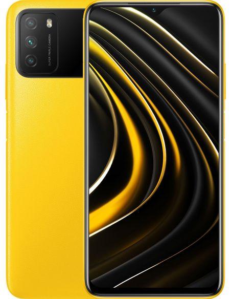 Купить Xiaomi Poco M3 4/128GB Yellow в ELEKTRON.UA