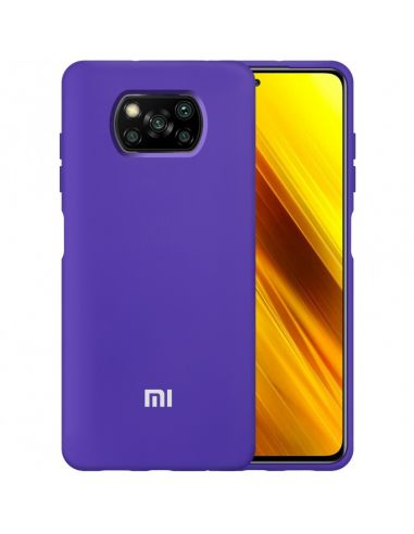 Купить Чохол Силікон Original Case для Xiaomi (Фіолетовий) в ELEKTRON.UA