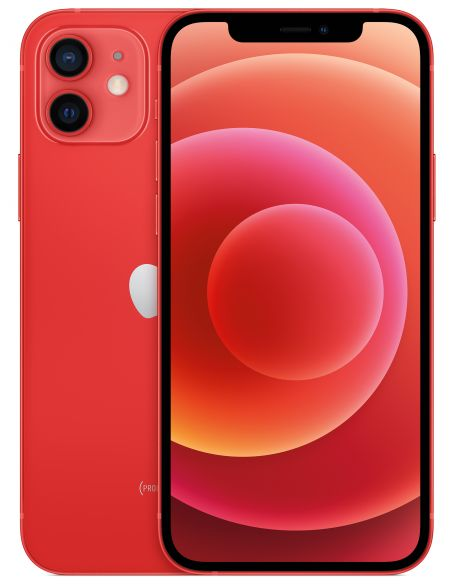 iPhone 12 64GB Dual Sim (PRODUCT)RED (MGGP3) ELEKTRON