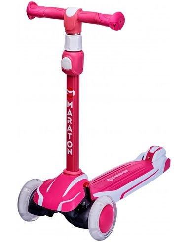Купить Cамокат Maraton Global G розовый в ELEKTRON.UA