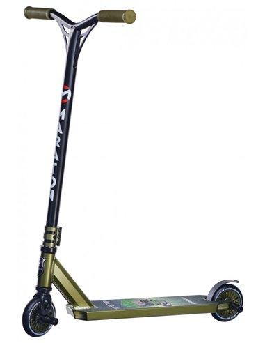 Трюковый самокат Maraton RAPID зеленый ELEKTRON